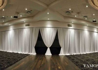 Air Wall Draping