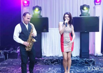 Sax Player and Singer